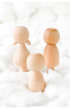 Anne & Baba & Çocuk - Doğal